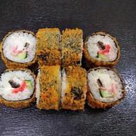 Унаги tempura с имбирем Фото