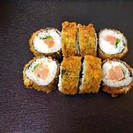 Жареный лосось Фото