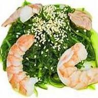 Чука салат с креветкой Фото