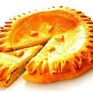 Пирог с кетой Фото