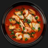 Итальянская похлёбка с морепродуктами Фото