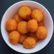 Сырные шарики с чесноком Фото