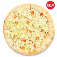 Цезарь пицца (сливки) Фото