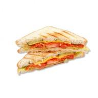 Сэндвич с пепперони Фото