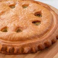 Пирог с курицей Фото