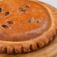 Пирог с треской и морским языком Фото
