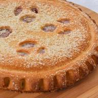 Пирог с яблоком и повидлом Фото