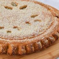 Пирог с черемухой и заварным кремом Фото