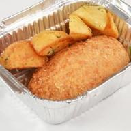 Куриная котлета с картофелем Фото