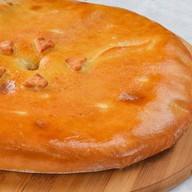 Пирог осетинский с сыром, орехами Фото