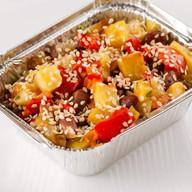 Овощи запеченные с кунжутом Фото