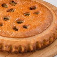 Пирог с грибами Фото