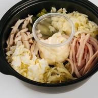 Сытный салат Фото