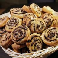 Печенье улитка с шоколадом (самовывоз) Фото