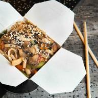 Курица в сливках wok Фото