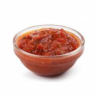 Острый абхазский соус Фото