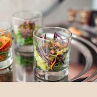 Салат с семгой (заказ за сутки) Фото
