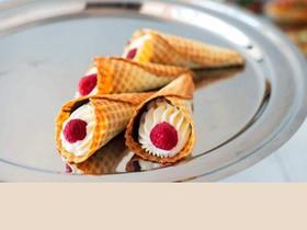 Домашняя вафля с кремом чиз (за сутки) - Фото