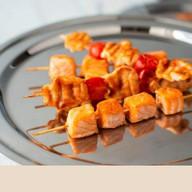 Шашлычок из семги (заказ за сутки) Фото