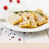 Лионский мясной пирог с курицей Фото