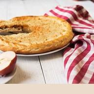 Пирог с грушей и творогом Фото