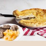 Пирог с бараниной и тыквой Фото