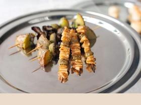 Шашлычок из кальмара с оливкой(за сутки) - Фото