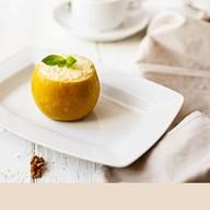 Яблоко запечeнное с творогом Фото