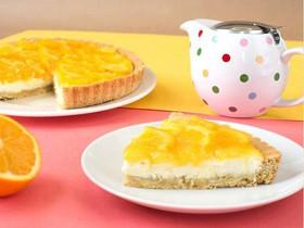 Тарт с апельсином и сыром креметте - Фото