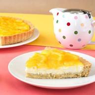 Тарт с апельсином и сыром креметте Фото