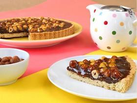 Тарт с шоколадом, карамелью и фундуком - Фото