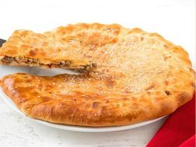 Пирог с мясом и баклажанами - Фото