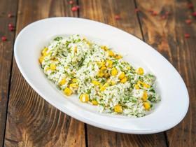 Рис с кукурузой и зеленью - Фото