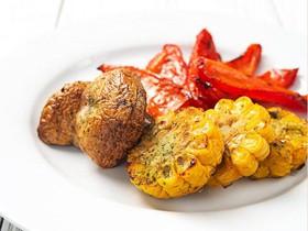 Гарнир из овощей на мангале - Фото