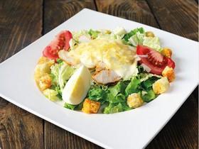 Цезарь лайт салат - Фото