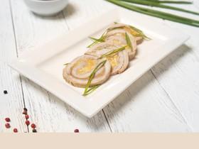 Рулет из свинины с сыром чеддер, дор блю - Фото