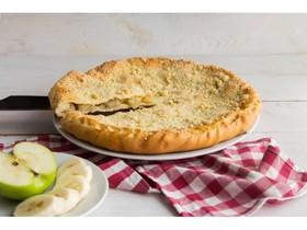 Пирог с яблоками и бананами - Фото