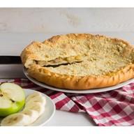 Пирог с яблоками и бананами Фото