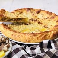 Пирог с копченым окороком и картофелем Фото