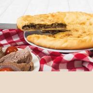 Пирог с мясом и баклажанами Фото