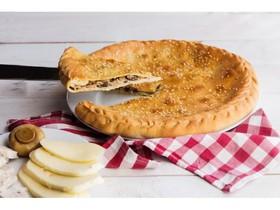 Пирог с курицей, грибами, сыром - Фото