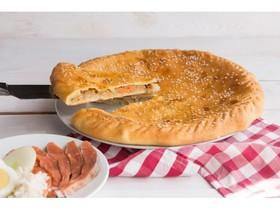 Пирог с дальневосточным лососем и рисом - Фото