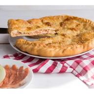 Пирог с лососем и картофелем Фото