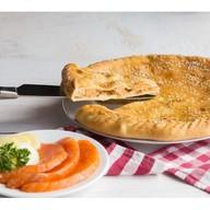 Пирог с сёмгой и картофелем Фото