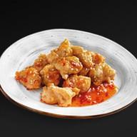 Курица в кляре с чили в сладком соусе Фото