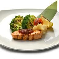 Карамельный лосось Фото