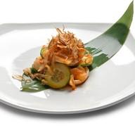 Салат с кальмаром робата Фото