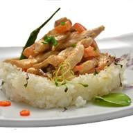 Куриное филе тори спайс с рисом,овощами Фото