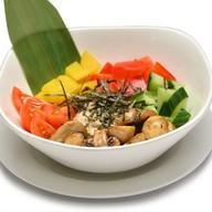 Поке боул вегетариано Фото