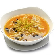 Суп с вонтонами Фото